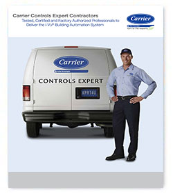 Carrier Controls brochure cover