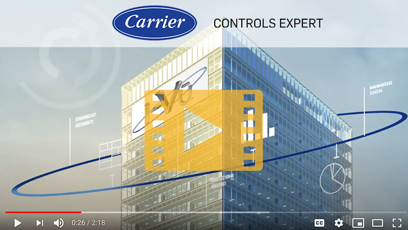 Carrier Controls video banner
